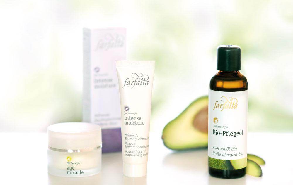 farfalla Produkte für trockene Haut