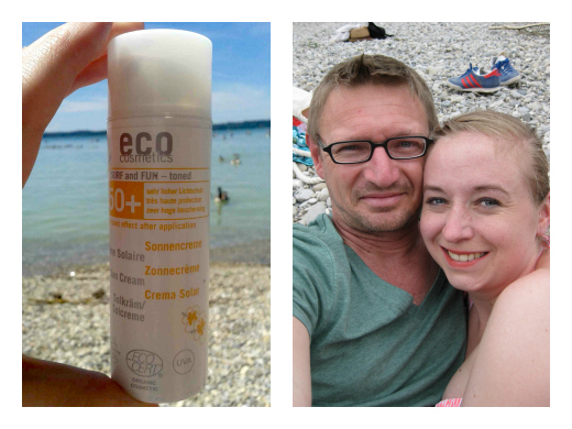 Umzug mit der Eco Surf and Fun Sonnencreme