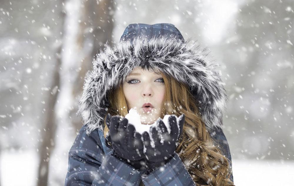 Zarte Haut trotz Kälte