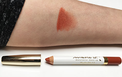 Blog marie w. Bronzer + Lippenstift Bild: naturalbeauty.de