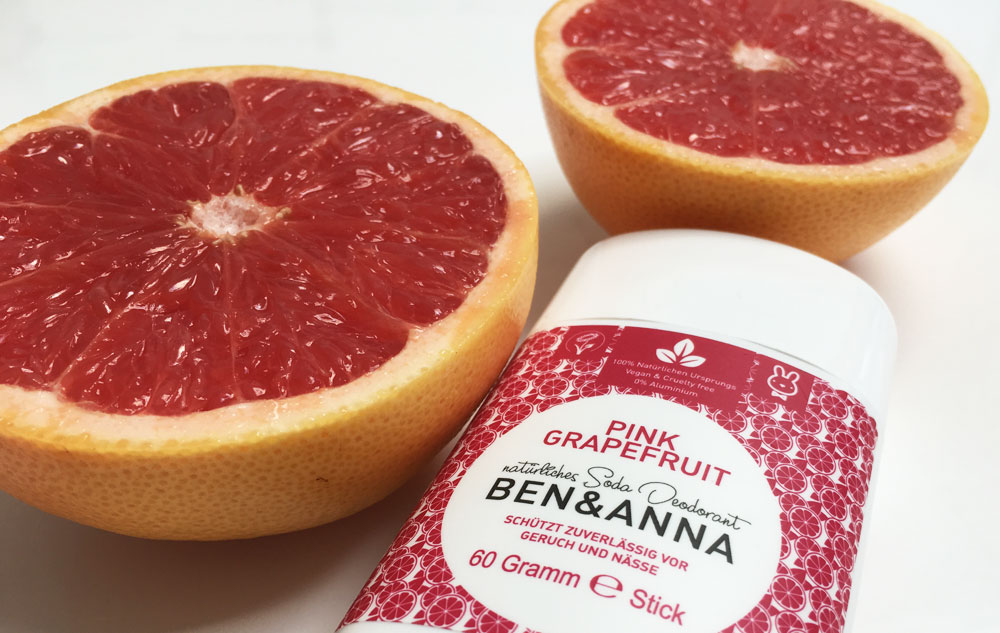 WE LOVE Ben & Anna Deo Pink Grapefruit