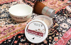 Titelbild Blog: Mineralisches Wunderpuder: marie w. Make-up Bild: naturalbeauty.de