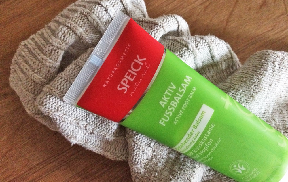 WE LOVE SPEICK Natural Aktiv Fußbalsam