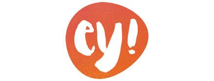 BRAND OF THE WEEK ey! organic cosmetics Logo Bild: ey! organic cosmetics