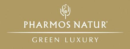 Das Logo von Pharmos Natur.