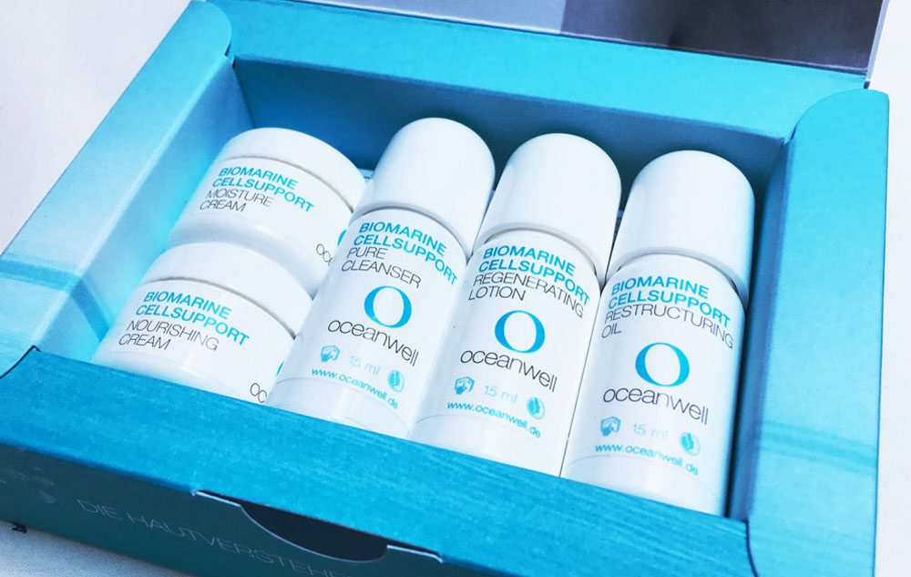 WE LOVE oceanwell Proben-Box Biomarine Cellsupport Bild: naturalbeauty.de