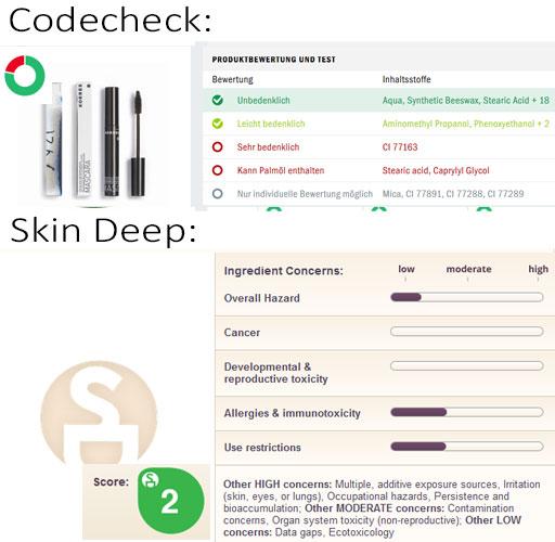 Magazin: Kosmetikcheck: Wie zuverlässig sind Online-Tools wie Codecheck, EWG Skin Deep und Kosmetikanalyse? Screenshot: naturalbeauty.de
