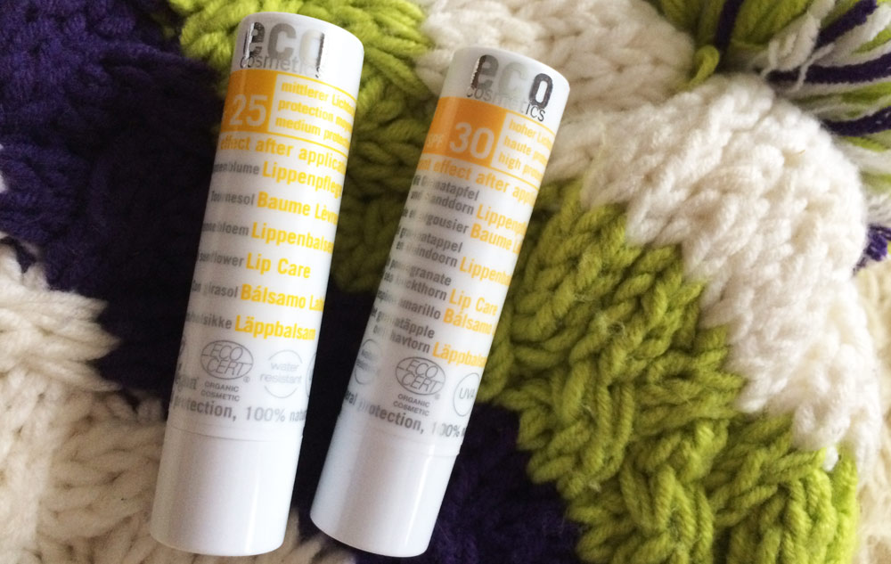WE LOVE eco cosmetics Lippenpflege mit Lichtschutz