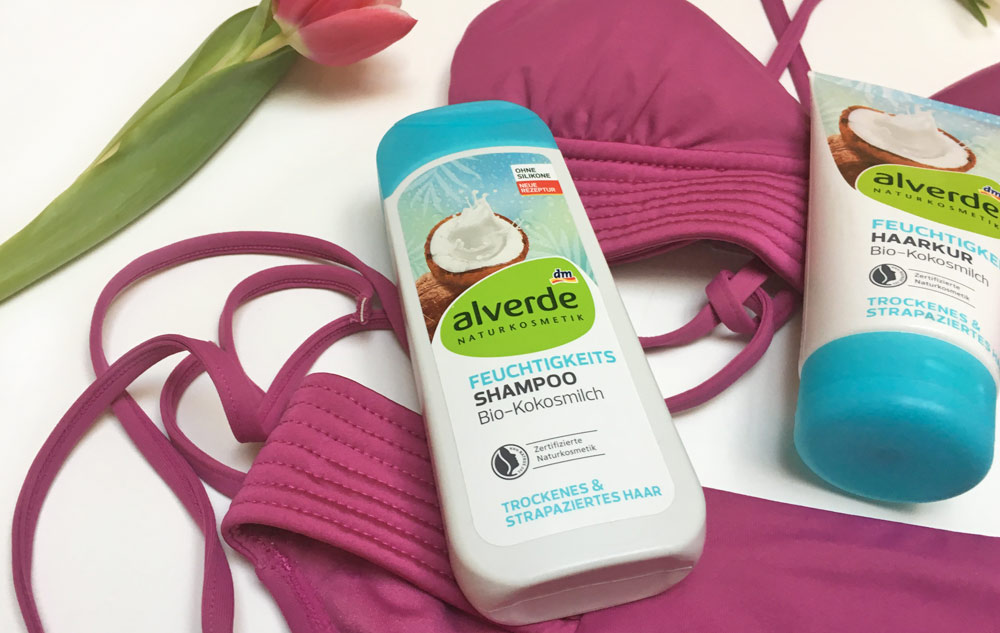 Blog: Summerfeeling! Die neue alverde Haarpflege mit Kokosmilch Bild: naturalbeauty.de