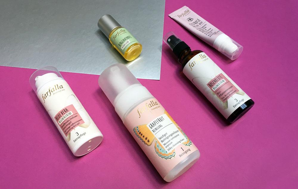 Mix & Match Gesichtspflege mit farfalla Neuprodukten