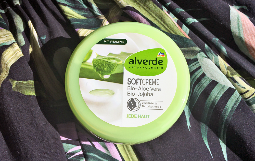 WE LOVE alverde Softcreme Bio-Aloe vera und Bio-Jojoba