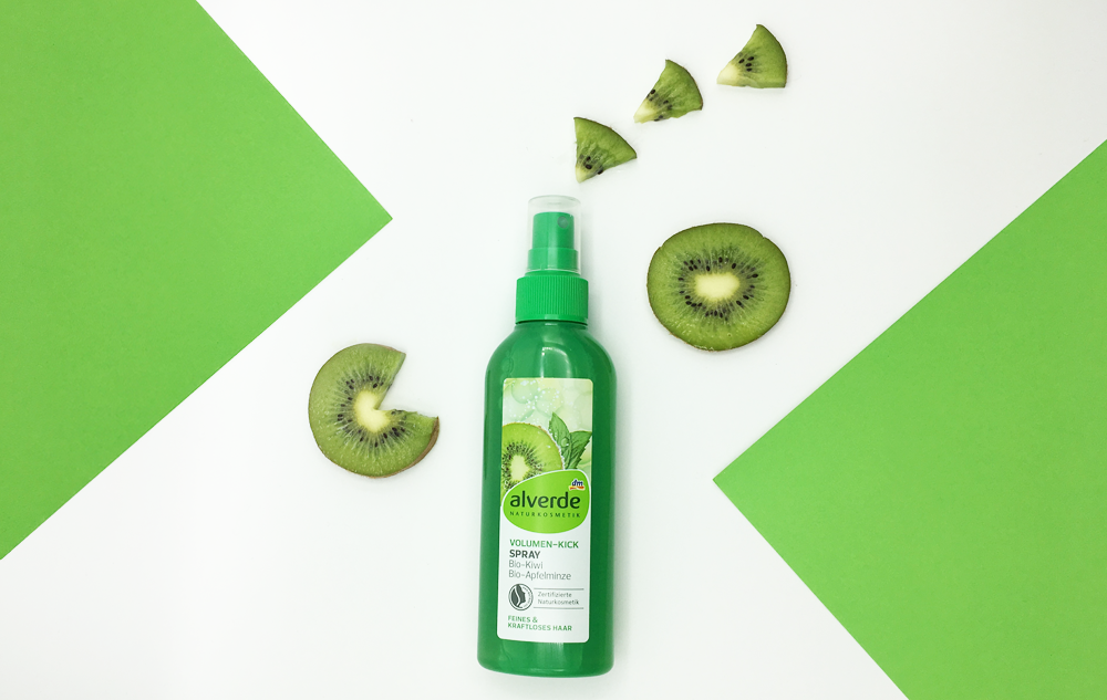 WE LOVE alverde Volumen-Kick Spray