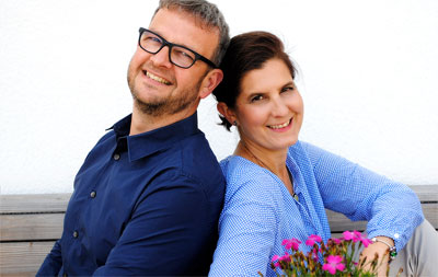 Stephan und Silke Becker, Gründer von cosmondial und den zugehören Marken benecos und GRN.