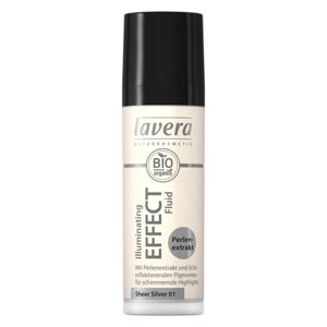 lavera illuminating effect fluid sheer silver