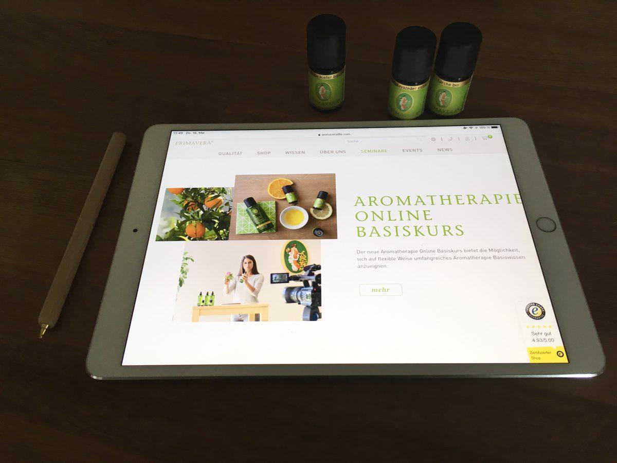 E-Learning mit Primavera: Der Aromatherapie Basiskurs