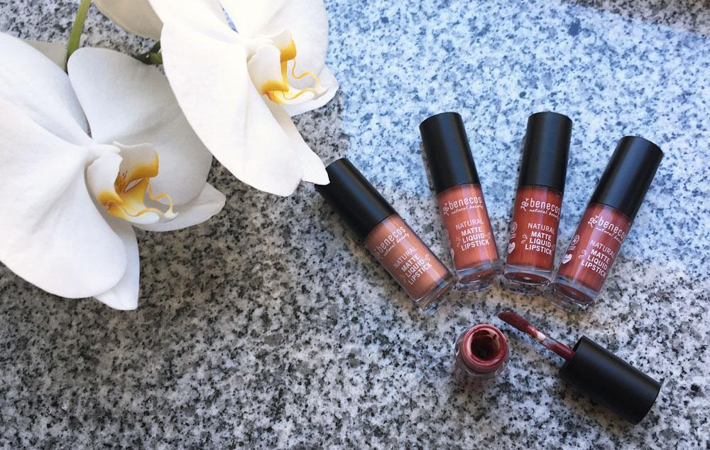 benecos Natural Matte Liquid Lipsticks